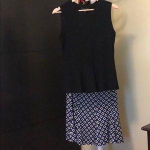 Diane von Furstenberg 100% silk skirt size 6